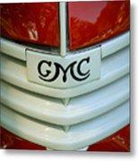 Gmc Grill Metal Print