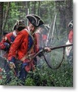 Fight In The Forest Bushy Run 1763 Metal Print