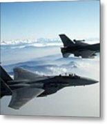 Fighter Jets Metal Print