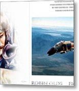 Robin Olds Fighter Pilot Metal Print