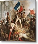 Fighting At The Hotel De Ville Metal Print