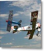 Fighting Colours 2 - Fokker D. Vll - Nieuport Metal Print