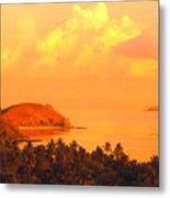 Fiji Mana Island Metal Print