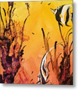 Fijian Friends Metal Print