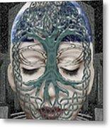 Fildais Celtic Goddess Metal Print