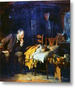 Fildes The Doctor 1891 Metal Print