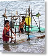 Filipino Fishing Metal Print