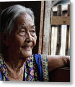 Filipino Lola - Image Number Fourteen  Metal Print