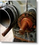 Film Camera From The Past Metal Print