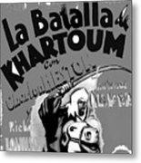 Film Homage Khartoum 1966 Cinema Felix Number 1 Us Mexico Border Town Nogales Sonora 1967-2008 Metal Print