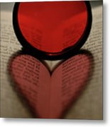 Filter Heart 2 Metal Print