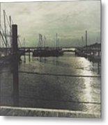 Filtered Marina Metal Print