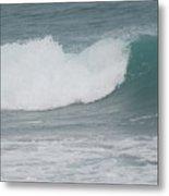 Fin Wave Metal Print
