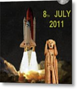 Final Shuttle Mission 8th July 2011 Metal Print by Eric Kempson