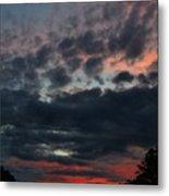 Final Sunset Fling Metal Print