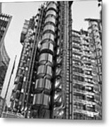 Finance The Lloyds Building In The City Metal Print