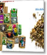 Find Bulk Herbal Incense Suppliers Metal Print