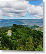 Find Your Road Metal Print