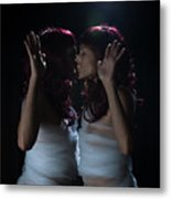 Finding Oneself On The Other Side Metal Print