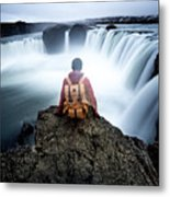Finding Our Place Of Zen Metal Print