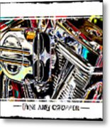 Fine Art Chopper II Metal Print