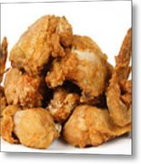 Fine Art Fried Chicken Food Photography Metal Print