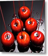 Fine Art Toffee Apple Dessert Metal Print