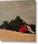 Fine August Day Metal Print