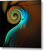 Fine Feathers Metal Print