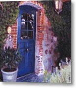 Fine French Restraunt French Laundry With Rosemary Metal Print