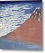 Fine Weather With South Wind Metal Print by Hokusai