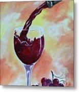 Fine Wine Metal Print