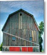 Finger Lakes Barn Iv Metal Print by Steven Ainsworth