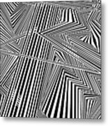 Fingerprints Metal Print