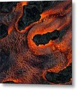 Fingers Of Lava Metal Print