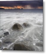Fingers Of The Storm Metal Print