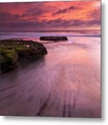 Fingers Of The Tide Metal Print