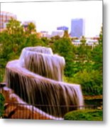 Finlay Park Fountain Summertime Metal Print