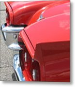 Fins Of Thunder Metal Print