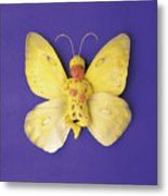 Fiona Butterfly Metal Print