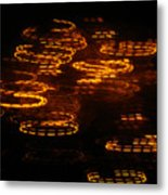 Fire Abstract  Metal Print