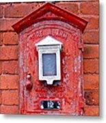 Fire Alarm Box No. 12 Metal Print