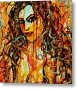 Fire And Desire Metal Print