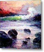 Fire And Water 1.0  Metal Print
