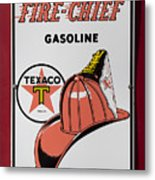 Fire-chief Sign Metal Print