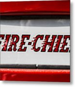 Fire-chief Metal Print