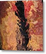 Fire - Elemental Spirit Metal Print