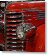 Fire Engine Of Old 5 Metal Print