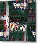 Fire Escape 6 Metal Print