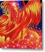 Fire Fairy Metal Print